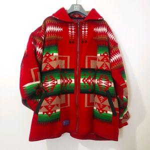 Rare Vintage Pendleton Chief Joseph Blanket Coat